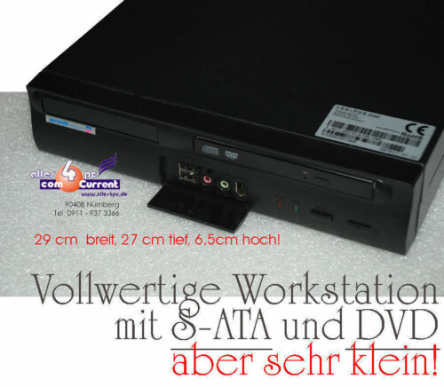 Very Compact Computer with 1500 MHZ CPU SATA 512 MB Ddr2 RAM USB & Sound Front