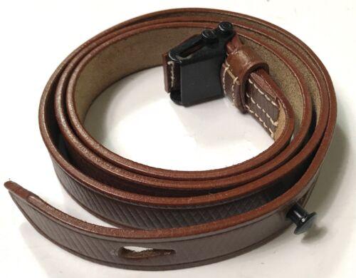WWII GERMAN MP LEATHER CARRY SLING-BROWNGermany - 156432