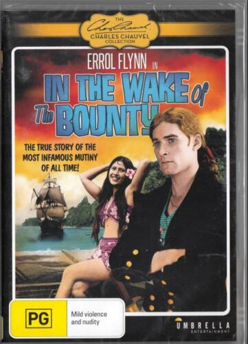 IN THE WAKE OF THE BOUNTY - ERROL FLYNN -  NEW DVD FREE LOCAL POST