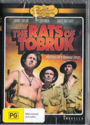 THE RATS OF TOBRUK- NEW & SEALED DVD - FREE LOCAL POST