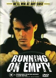 RUNNING ON EMPTY - CLASSIC AUSSIE MOVIE - MANUFACTURED NEW DVD - FREE LOCAL POST