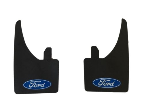 New Universal Mudflaps Fits Front or Rear Ford Logo Focus Escort Sierra Mud Flap