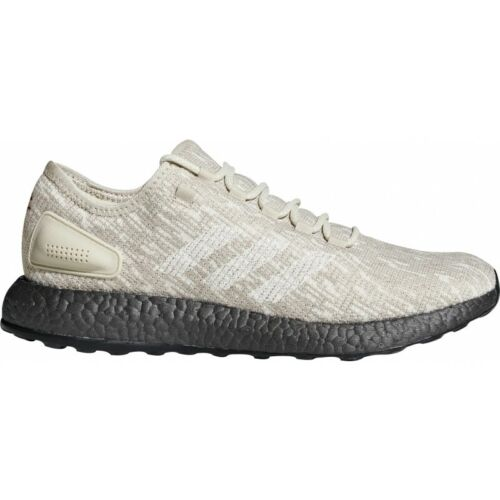 Mens Adidas Pure Boost Mens Running Shoes - Beige 0