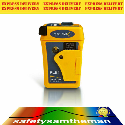 OCEAN SIGNAL rescueME GPS PLB1 SMALL PERSONAL LOCATOR BEACON - EXPRESS DELIVERY