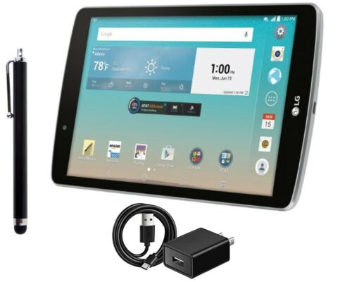 LG G Pad F Silver, 16GB, 8-inch, Wi-Fi +4G AT&T, Get Free Shipping and Bundle!