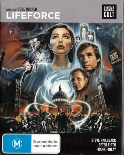 LIFEFORCE - TOBE HOOPER - BLU-RAY NEW & SEALED - FREE LOCAL POST