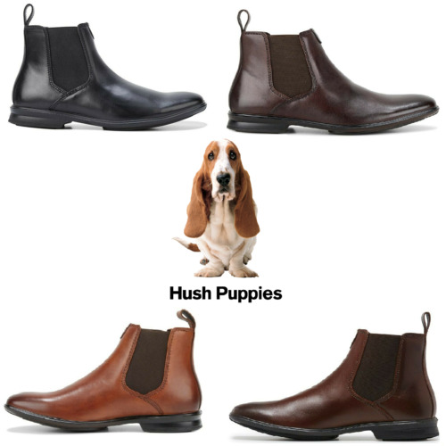 Mens Hush Puppies Chelsea Shoes