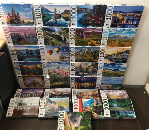 Mindbogglers 1000 Piece Jigsaw Puzzles By Hinkler