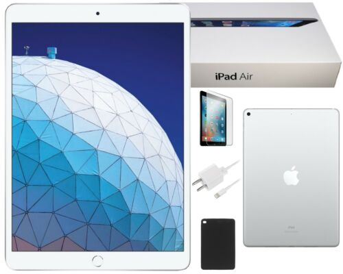 Apple iPad 2017 9.7-inch, 32GB, Wi-Fi Only, Silver, Bundle, Free 2-Day Shipping