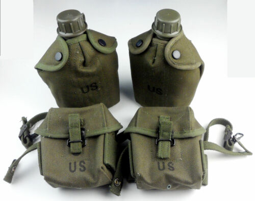 Vietnam War US Army M1956 Ammo Pouch M16A1 Pouches Pack Case Bag M1956 CanteenReproductions - 156445