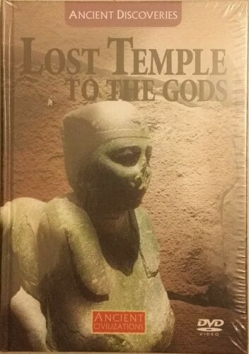NEW Ancient Civilizations LOST TEMPLE TO THE GODS DVD + Book
