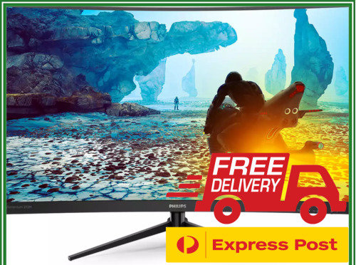 """27"""" Philips 272M8CZ FHD 165Hz Curved Gaming Monitor FreeSync LED LCD 1ms HDR VA"""