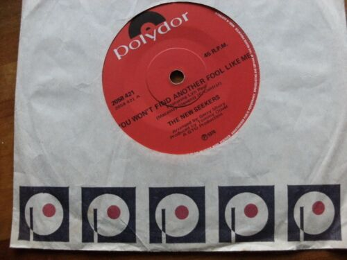 """NEW SEEKERS 1974 YOU WON'T FIND ANOTHER FOOL LIKE 45 rpm SINGLE 7"""" VINYL RECORD"""