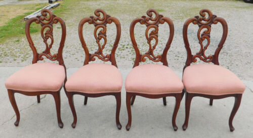 Set of 4 Victorian Dining Side Chairs