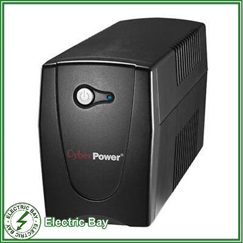 800VA CyberPower UPS VALUE800EI SOHO Uninterruptible Power Supply 2 Outlets