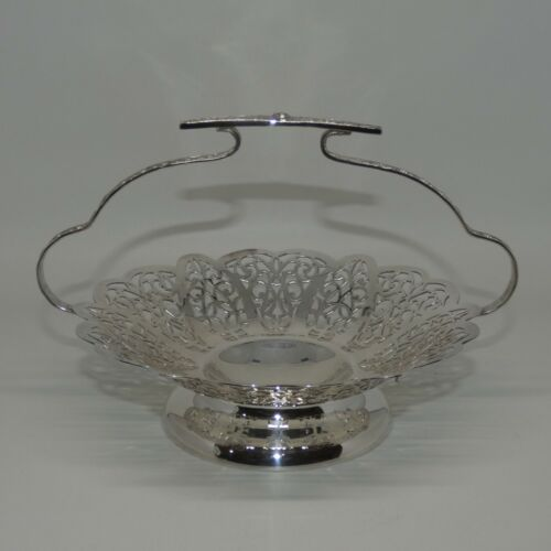 Silverplated Triple Plate Rosepoint by Paramount EPNS A1 handled tray superb