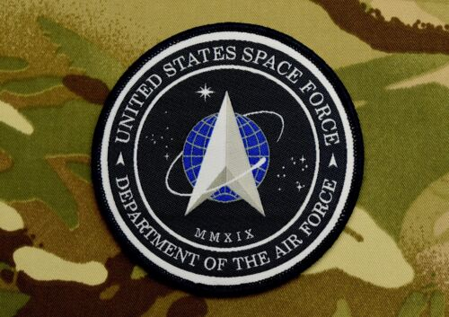 United States Space Force Patch Department Of Defense Hook & Loop BackingNavy - 66533
