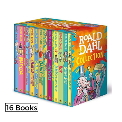 New ROALD DAHL Stories Collection 16 Books Box Set 15+1 Collection Brand 2020