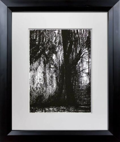 """Henry MOORE Lithograph ORIGINAL Ltd. Edition """"Forest"""" w/Archival Frame"""