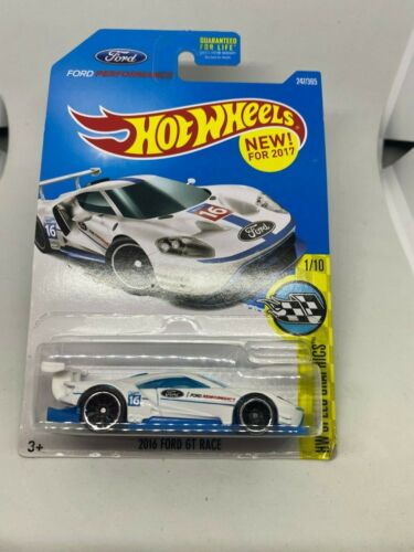 Hotwheels 1:64 Ford Gt Course 2016 1/10 2017