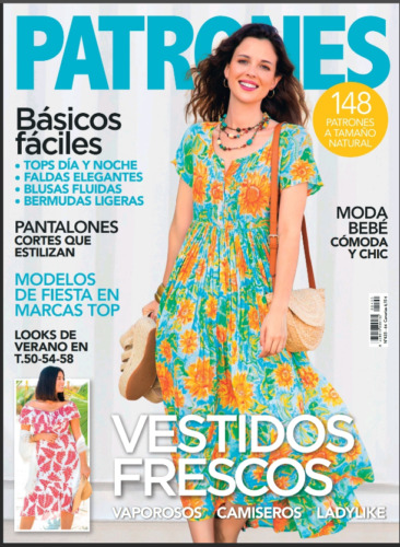 Revista Magazine ABRIL APRIL PATRONES 2021 n 420 sewing sew NEWEST!!!