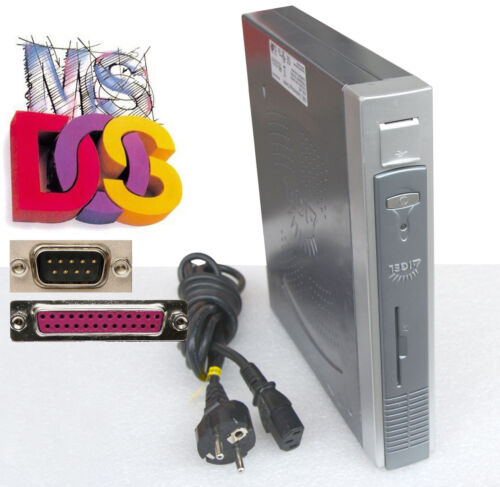 Msdos PC 400Mhz CPU 128MB SSD128MB RAM USB for Ms-dos with Lpt RS-232 Ps/2 TC41