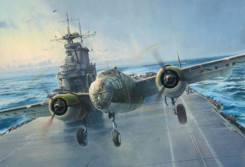 Into the Teeth of the Wind by Robert Taylor signed by Five Doolittle Raiders