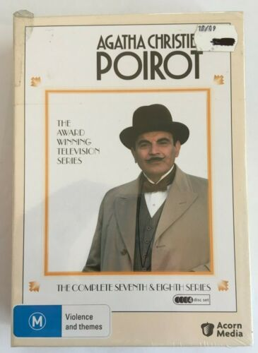 AGATHA CHRISTIES POIROT - THE COMPLETE 7TH SERIES - 4 Disc DVD SET All Region