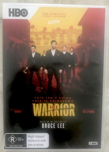 Warrior Season One - Dvd Like New/only Viewed Once
