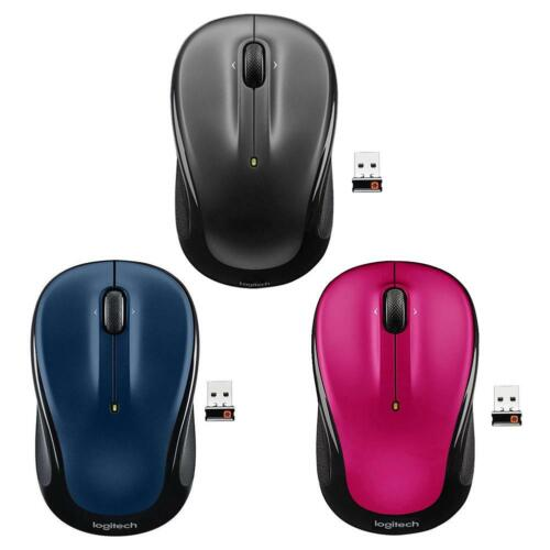 Logitech M325 3 Buttons USB Wireless 1000 DPI 2.4GHz Unifying Optical Mouse