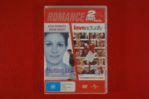 Notting Hill / Love Actually - DVD - Free Postage !!