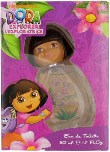 Dora the Explorer For Kids EDT Spray 1.7oz Shopworn New