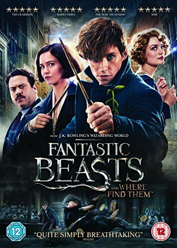 Fantastic Beasts and Where To Find Them [DVD + Digital Download] [2016] [DVD]