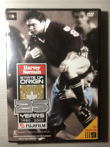 25 Years Of State Of Origin - Brand New Sealed All Regions DVD
