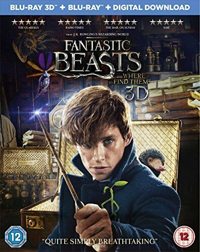 Fantastic Beasts and Where To Find Them with Limited Edition Niffler [DVD]