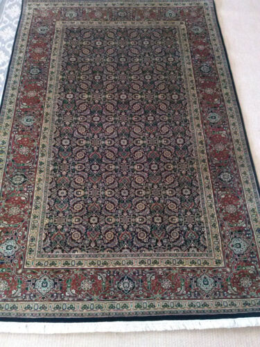 Fine Formal Exquisite R.G. Harati Hand Knotted Area Rug Teppich 5x8