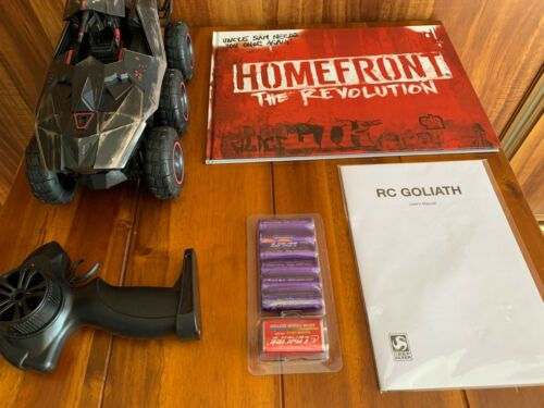 Homefront The Revolution Goliath Collector's Edition contents