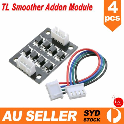 4x TL Smoother Addon Module for 3D Printer Stepper Motor to Smooth/Quieten Fine