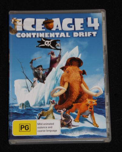 DVD - ICE AGE 4: Continental Drift voiced by Ray Romano & Denis Leary