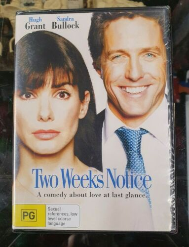 New Sealed DVD - Two Weeks Notice [B1]