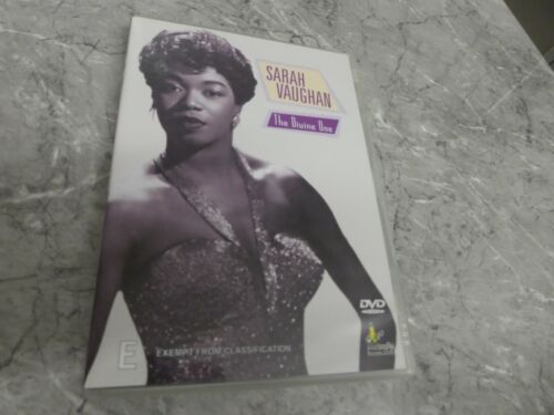 Sarah Vaughan - The Divine One (DVD,Region 4) GM10