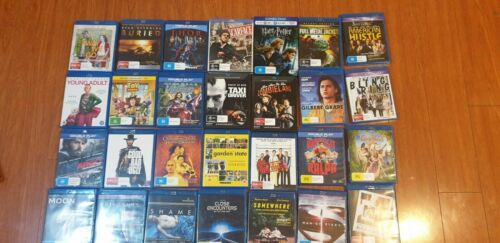 Blu-Rays Like New 3 FOR $27 - YOU PICK! Plus more boxsets