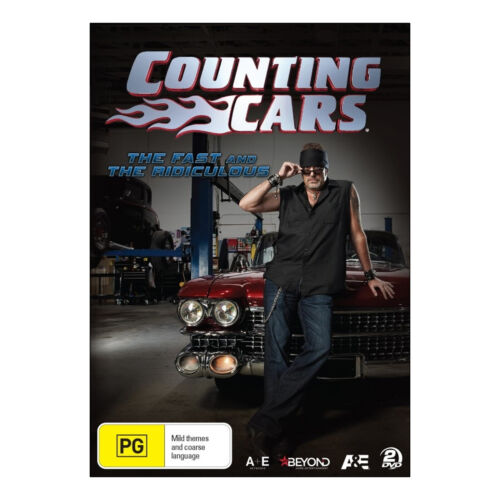 Counting Cars: The Fast and the Ridiculous DVD (2 Disc Set) New - Danny Koker