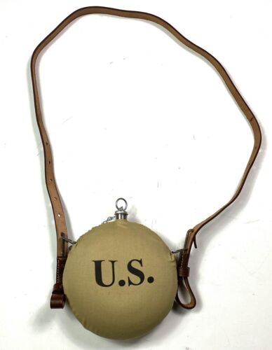 INDIAN WARS US ARMY M1878 CANTEEN & STRAPReproductions - 156384