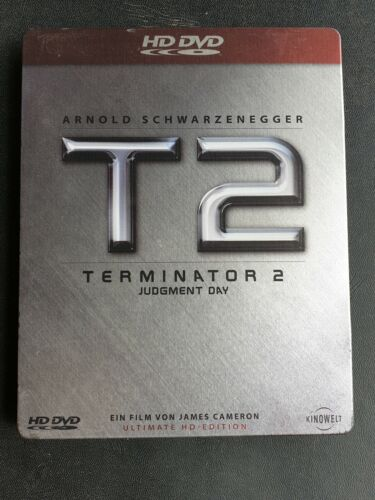 Terminator 2 Ultimate HD Edition▪︎Hd-DVD Steelbook▪︎Extremely Rare▪︎