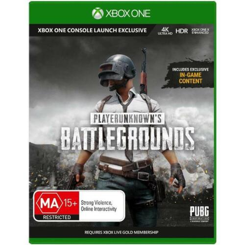 PUBG XBOX One Playerunknowns Battlegrounds 100 Player Shooter Game Microsoft XB1