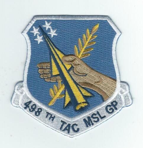 498th TAC MISSILE GROUP (REUNION/VET)  patch