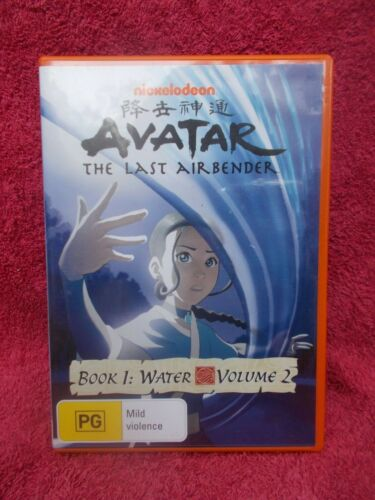 AVATAR-THE LAST AIRBENDER BOOK 1 WATER VOLUME 2 ANIMATION DVD PG R4