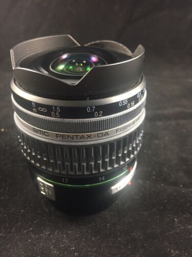 Pentax SMC 10-17mm F3.5-f4.5 ED (IF) Lens With Box And Warranty Paper