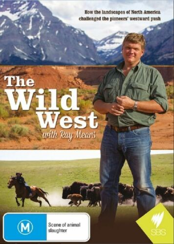 The Wild West With Ray Mears (DVD, 2014)--FREE POSTAGE